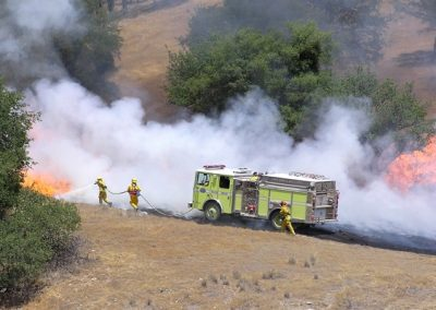 HME_OES Fighting fire