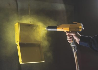 MetalComp3_OptiFlex Spraying Yellow