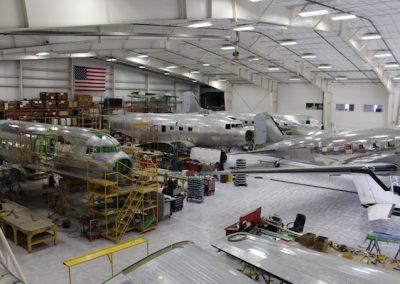 rebuilding planes
