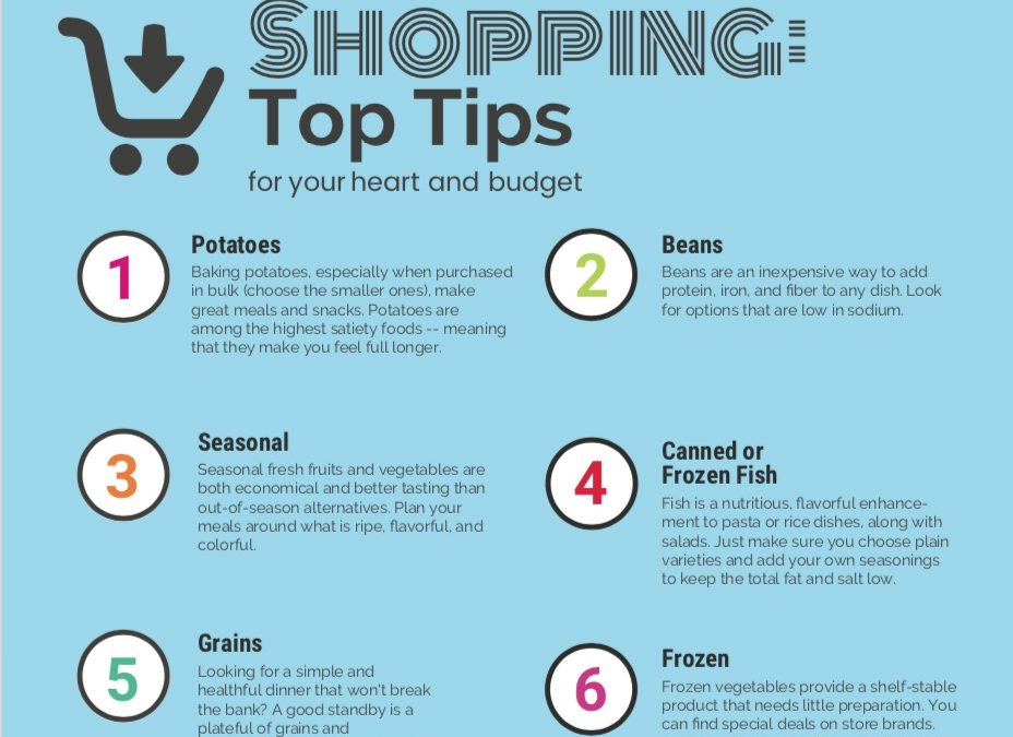 Shopping Top Tips